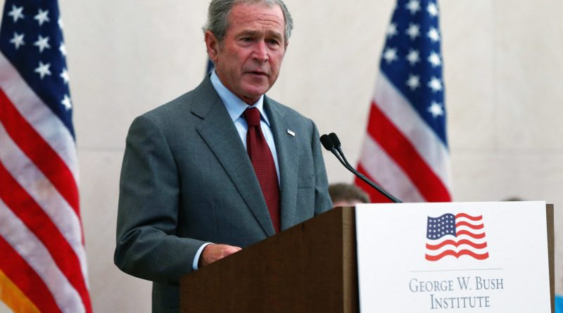 Bush, in op-ed and book, steps into US migration debate