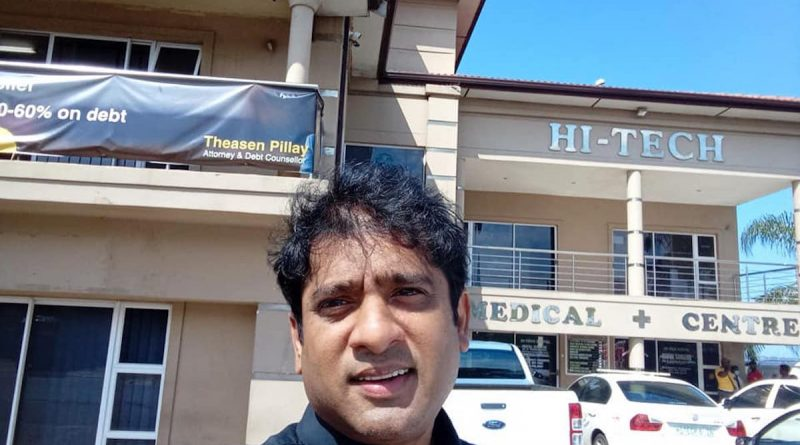 Prominent Durban attorney Theasen Pillay stabbed to death